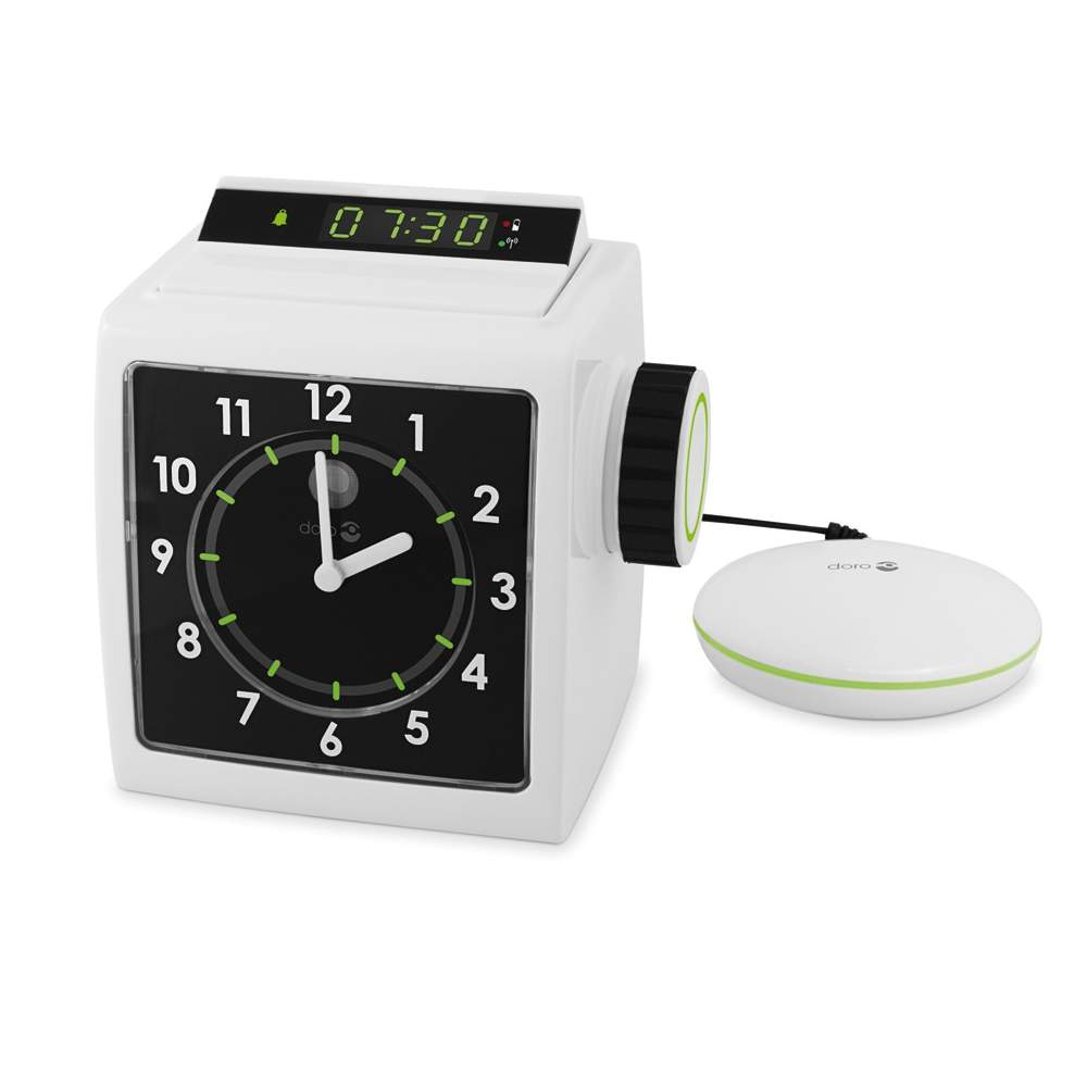Alarm Clock with Bed Shaker AD333 - Alarm Clock with Bed Shaker AD333