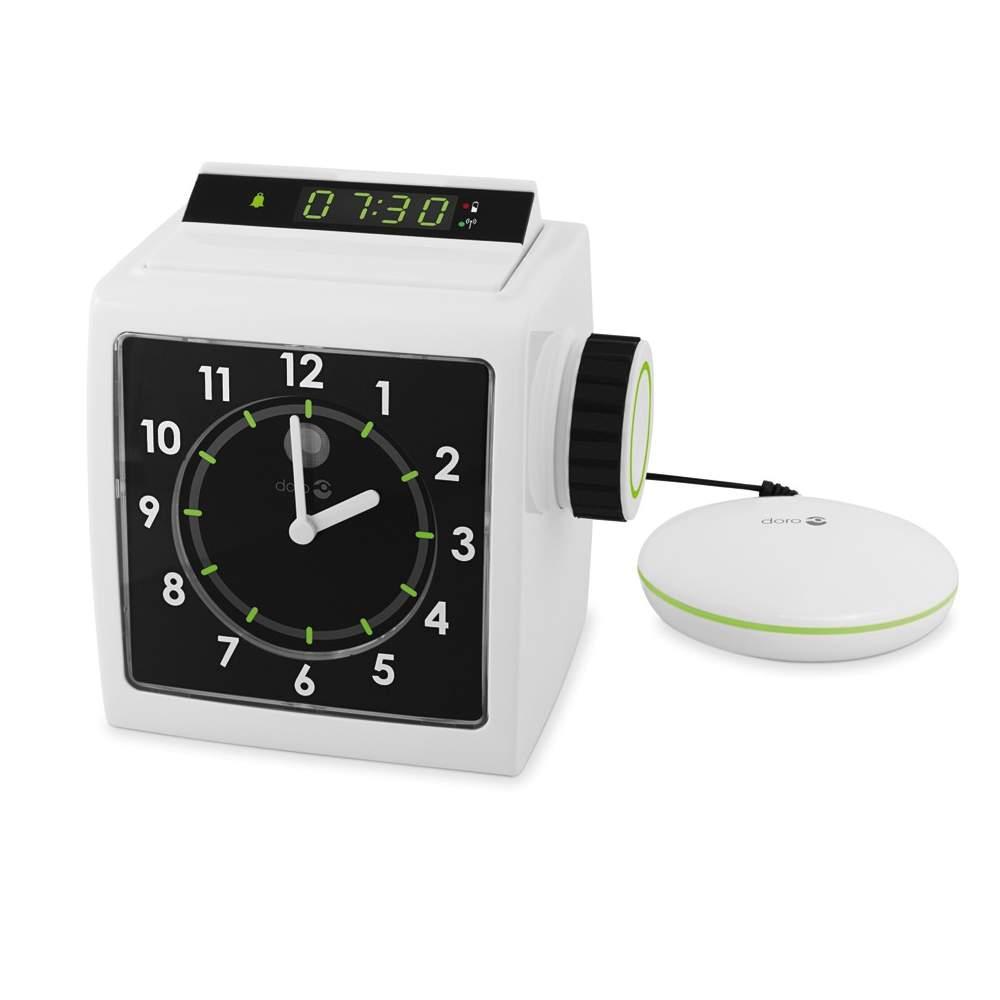 Despertador com travesseiro vibrador AD333 - Despertador com travesseiro vibrador AD333