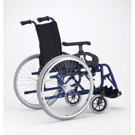 Wheelchair Minos Metropoli large wheels