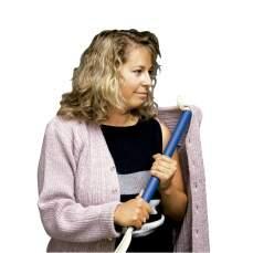 Vestir shoehorn 76 centímetros em forma de S comprimento.