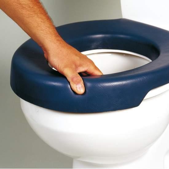 SOFT SIÈGE DE TOILETTE LIFT BLEU AD511 - Doux Bleu Siège de toilette
