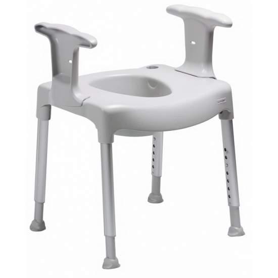 PRÁTICA Comode WC assento de elevação AD500 - Prática Comode AD500 impulsionador do assento