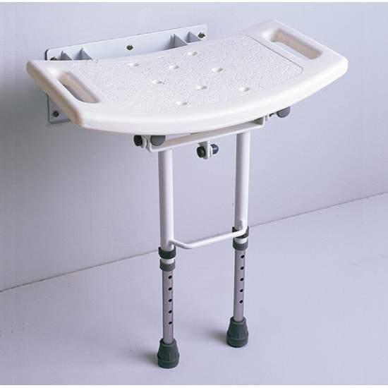 TOILET SEAT con gambe pieghevoli AD538D - Sedile del WC con gambe pieghevoli.