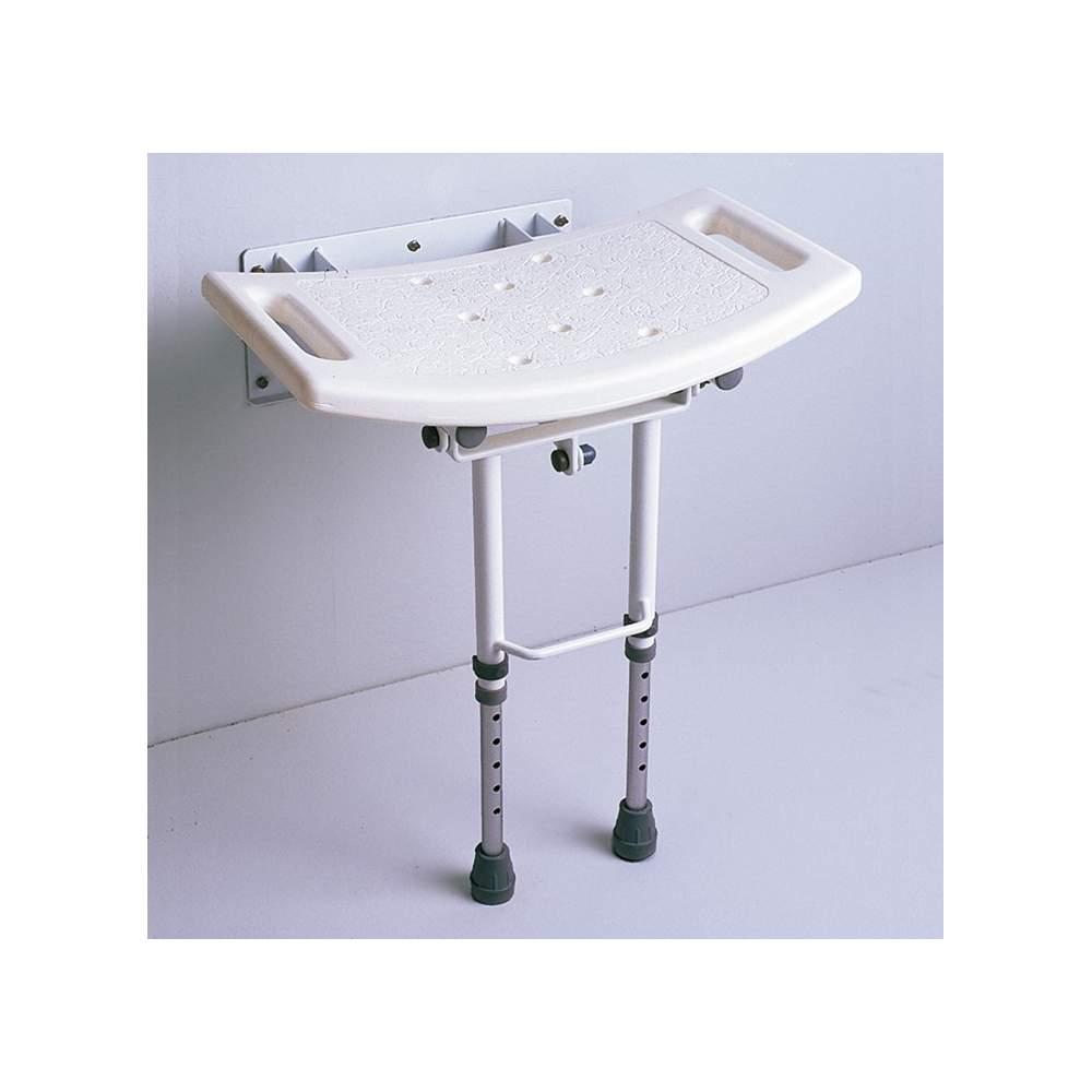 Siège de toilette pieds pliants AD538D - Siège de toilette à charnière avec les jambes.