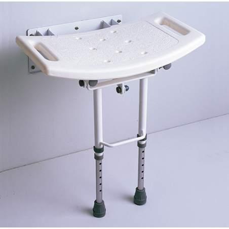 Sedile del water con gambe pieghevoli AD538D