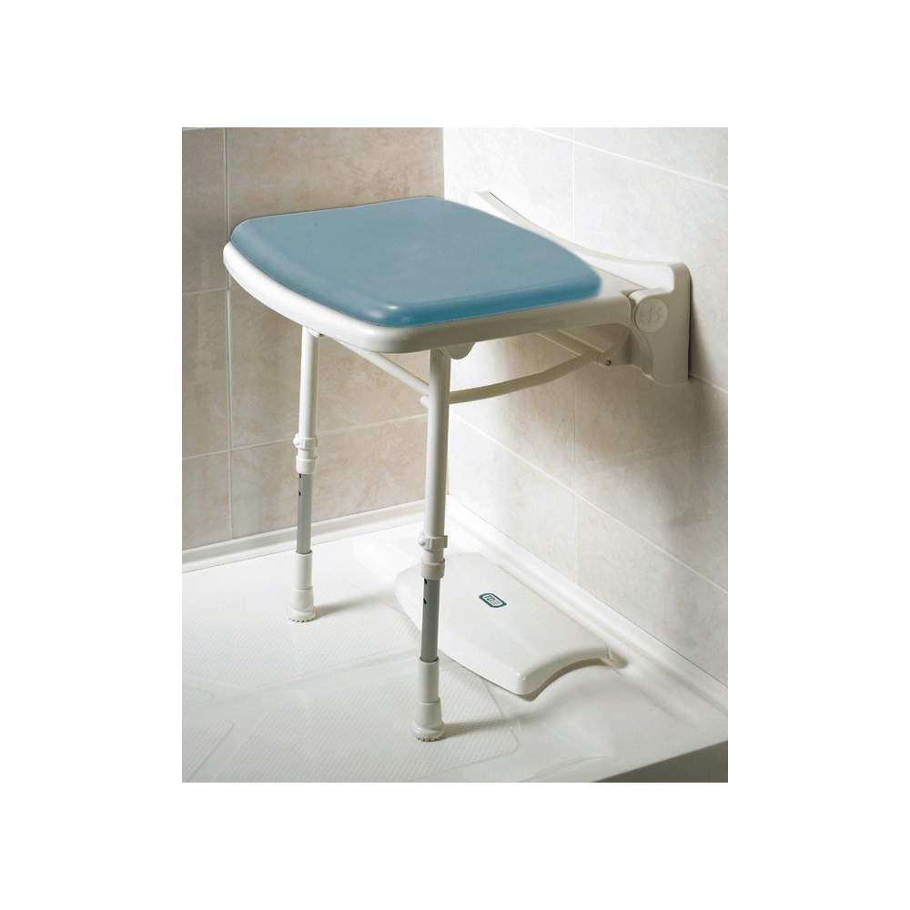FOLDING SEAT MAXI AD528 - Compact folding padded seat.