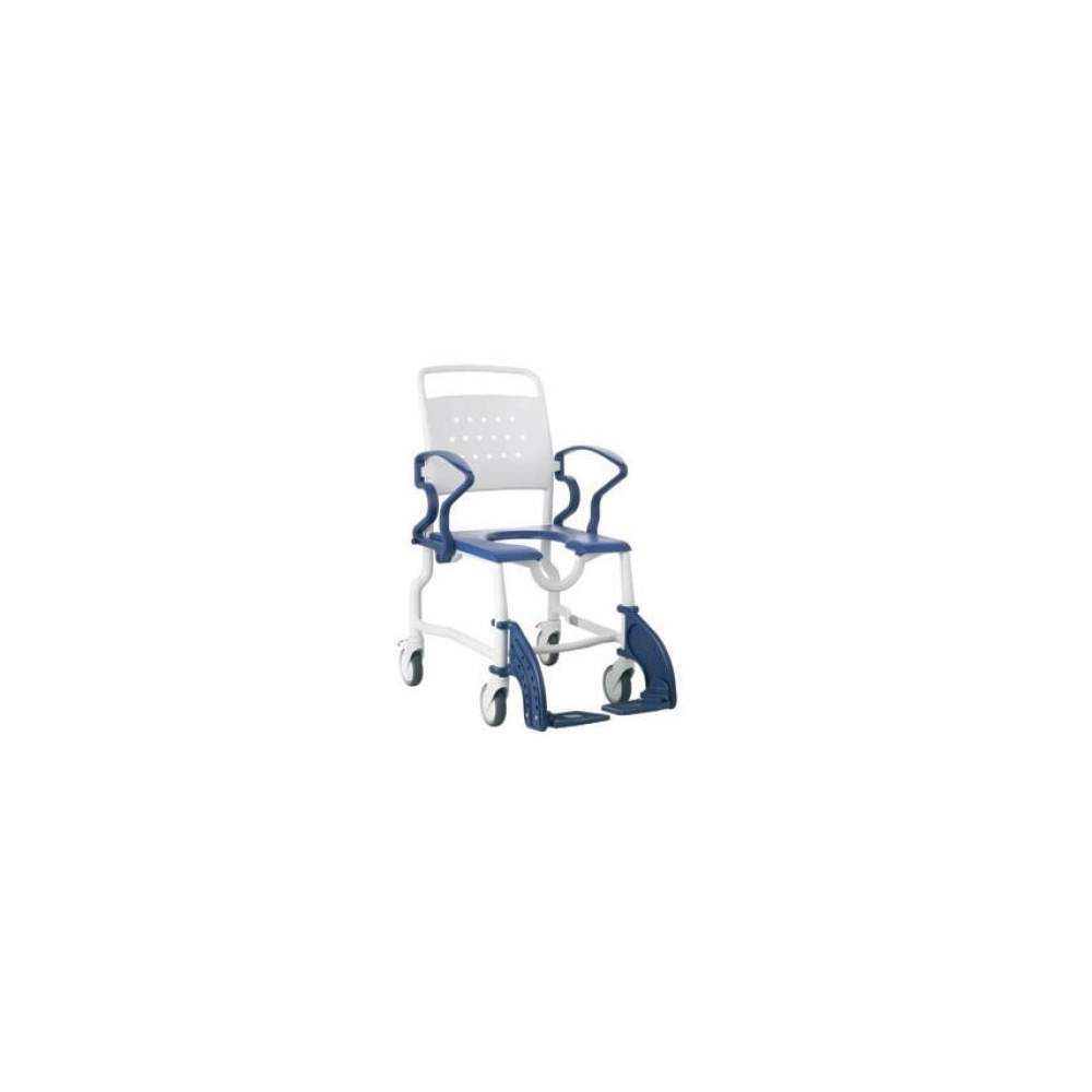 BATHROOM WITH TOILET SEAT mdlo REBOTEC ERFUT - Shower chair Erfut