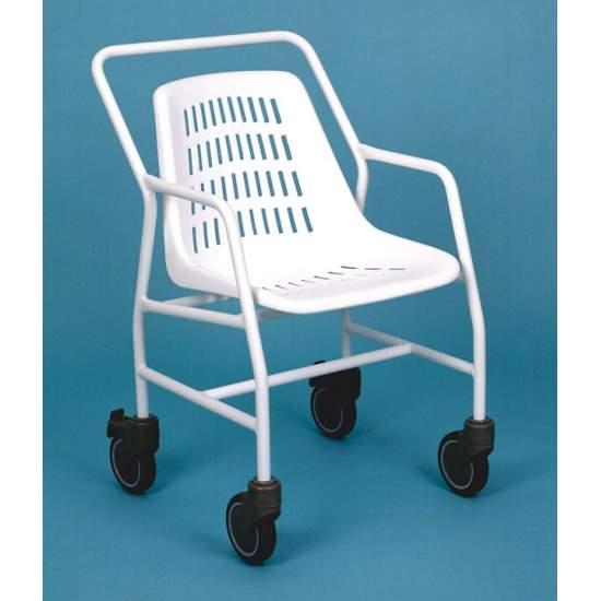 BAIN EN FAUTEUIL ROULANT AD545C - chaise de bain avec roulettes