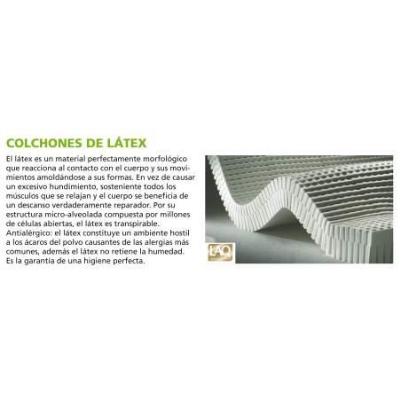 COLCHON ANTIESCARAS DE LATEX CON FUNDA SANITARIA AD930