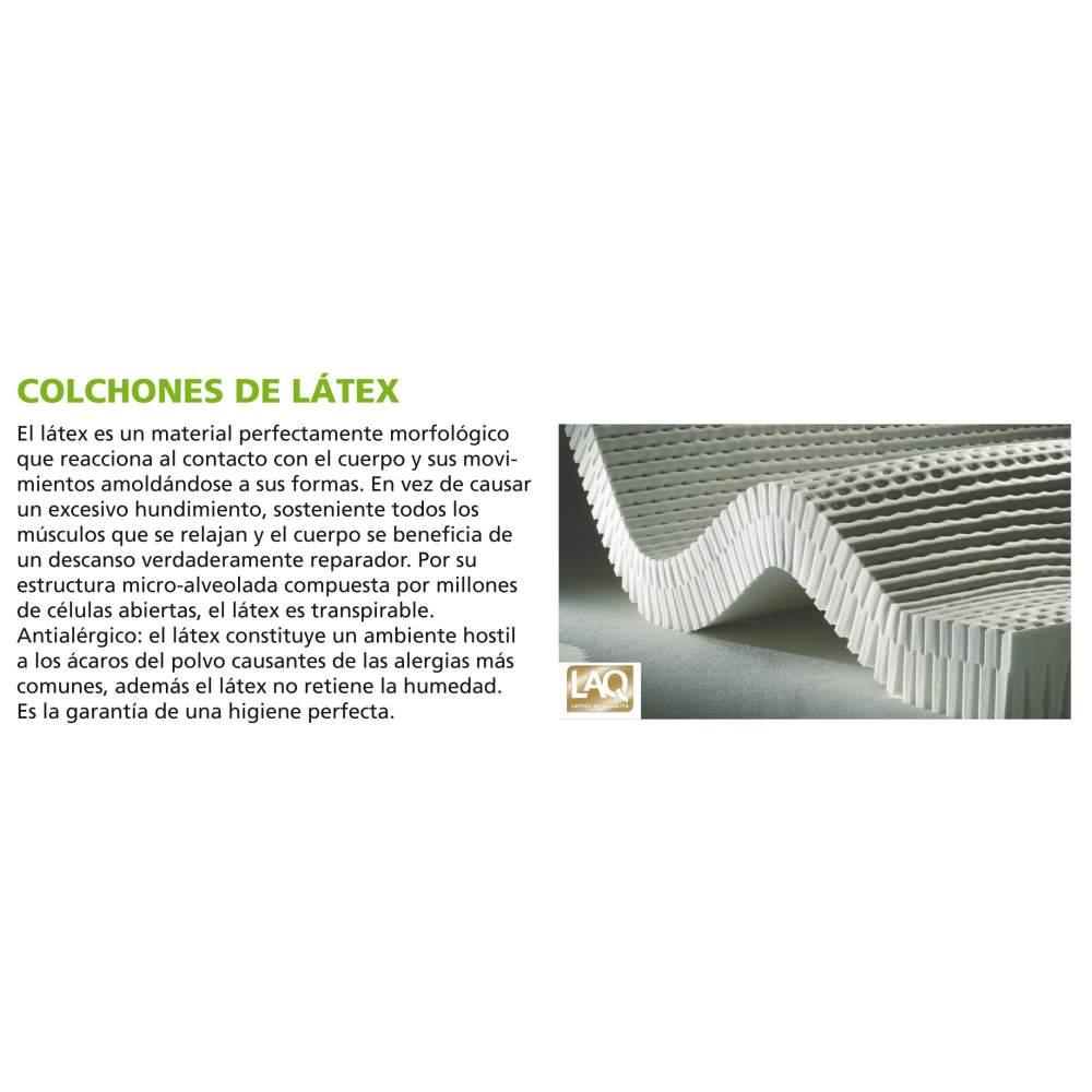 Colchon antiescaras de latex con funda sanitaria ad930 - Colchon de latex precios ...