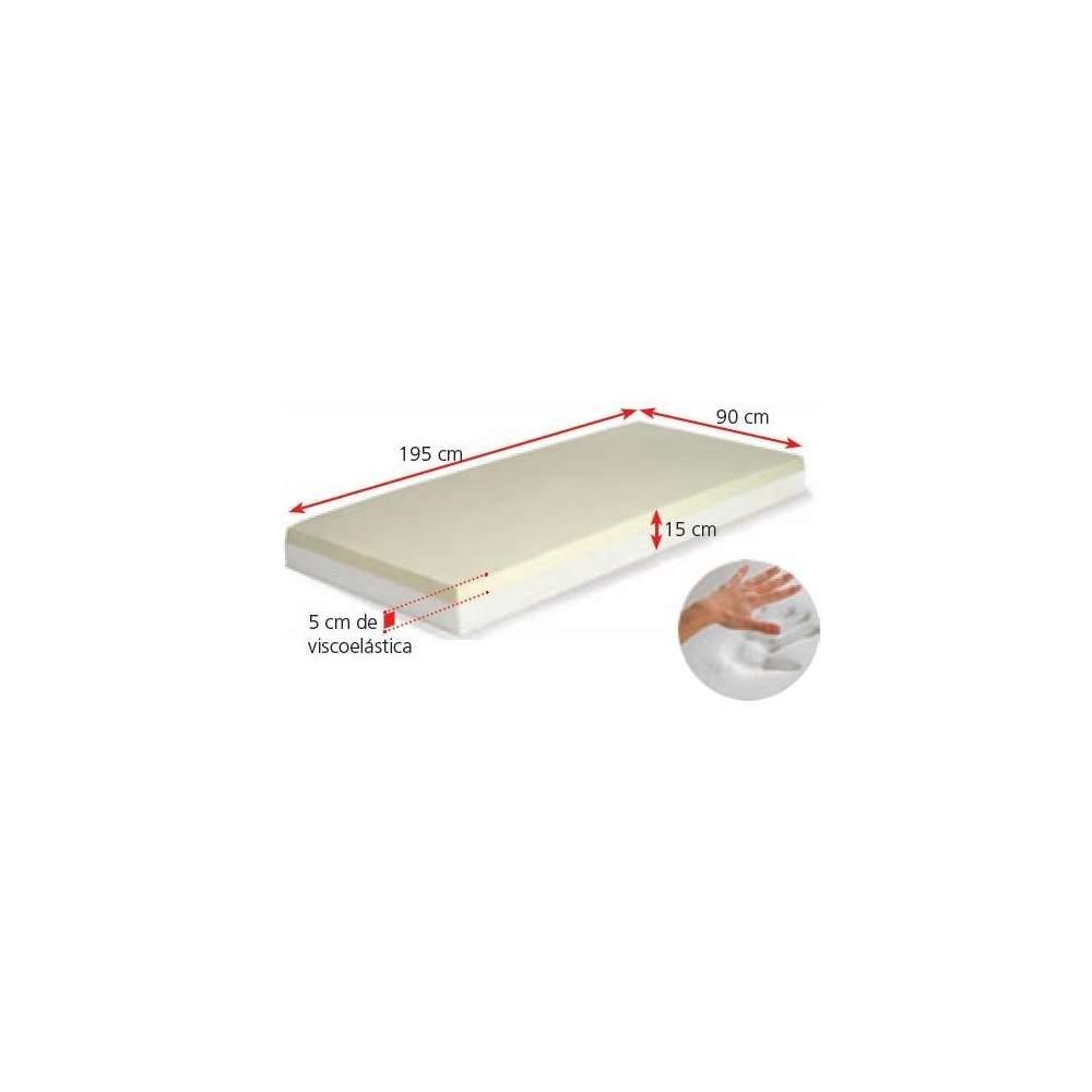 Capa do colchão COM MEMÓRIA viscoelástico antiescaras AD953 - Memória espuma colchão com cobertura de memória antiescaras modelo