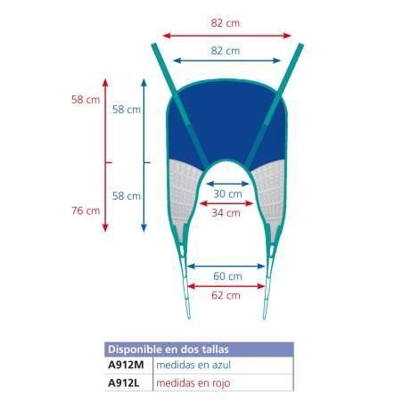 imbracatura universale Comfort A912