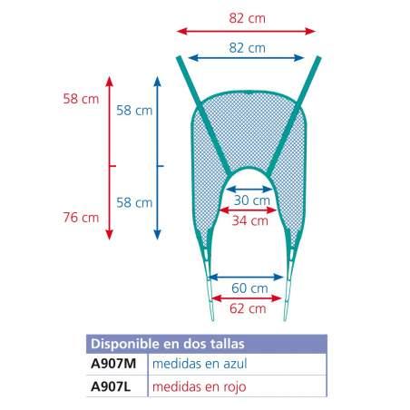 Aqua bain harnais A907