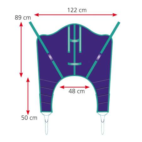 Wrap harness for crane A916