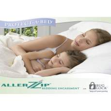 AllerZip® mattress cover, 150 x 200 cm