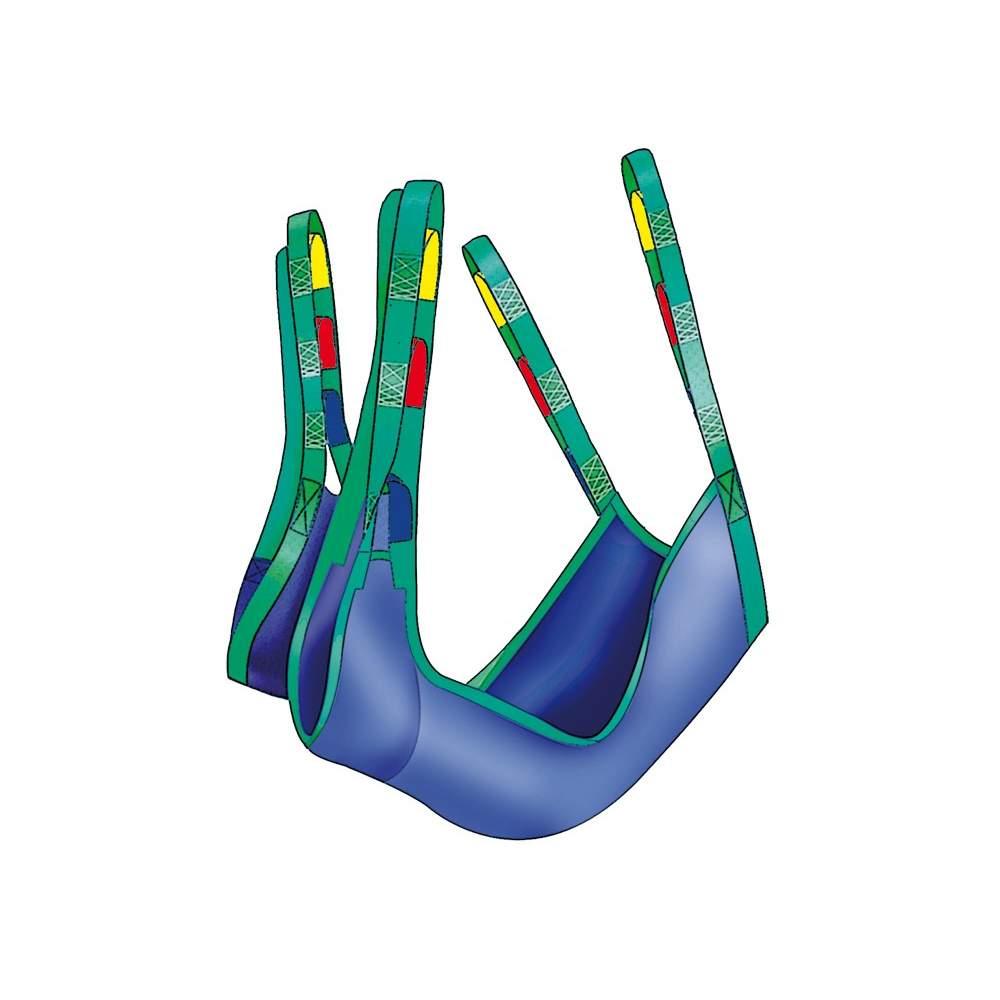 Grues spéciales pour les amputés harnais A917 - Harnais spécial pour les amputés