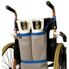 Oxygen bottles carryon bag