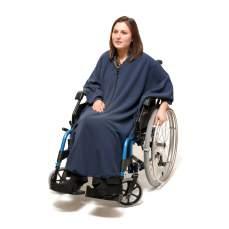 Imperméable en fauteuil roulant 3 en 1