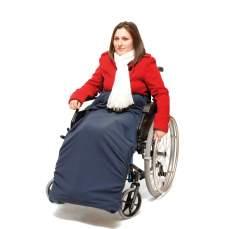 Blanket para cadeira de rodas Forrado