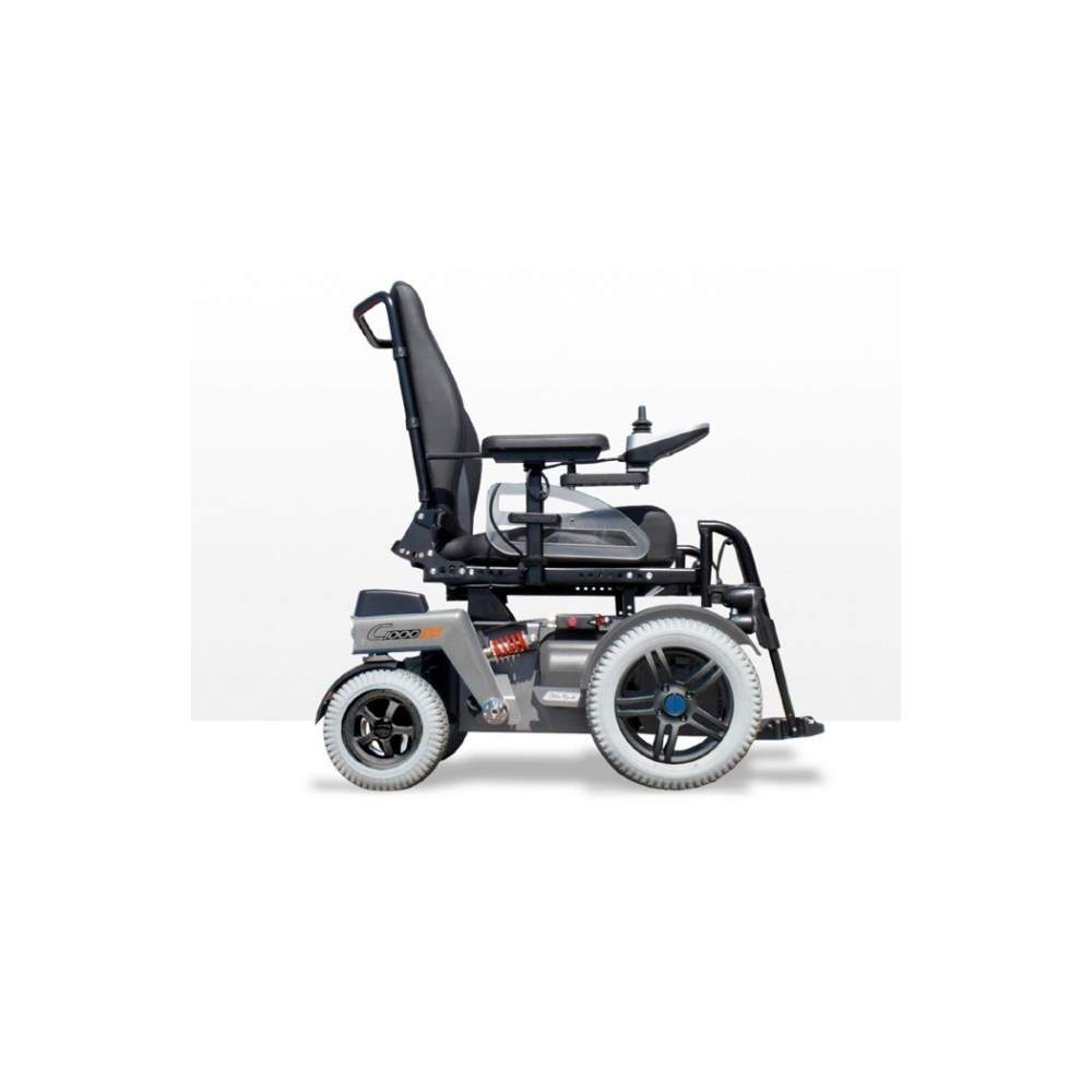 Electric wheelchair C1000 DS Otto Bock -  With its front engine and the new address, the C1000 DS is suitable for both exterior and interior spaces. Also, the wheelchair offers a low seat height, a wide variety of...