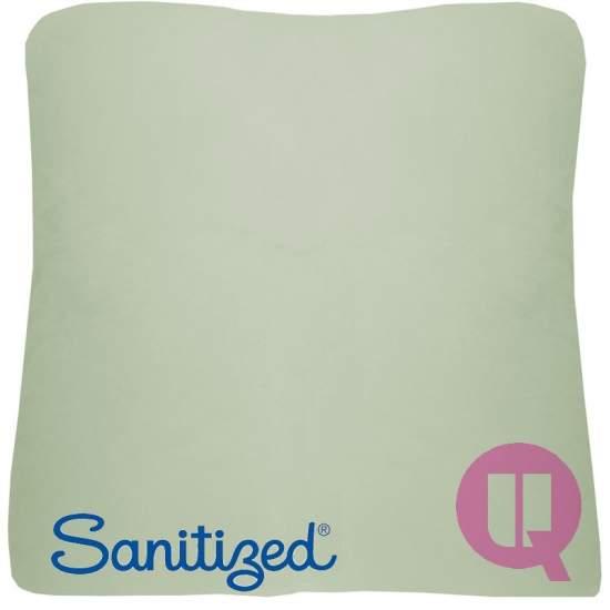 Almofada Suapel higienizado 44x44x11 quadrado branco