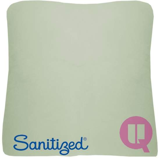 Sanitized coussin Suapel 44x44x11 carré blanc