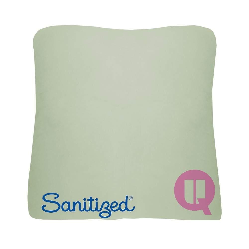 Almofada Suapel higienizado 44x44x11 quadrado branco - BRANCO QUADRADO 44x44