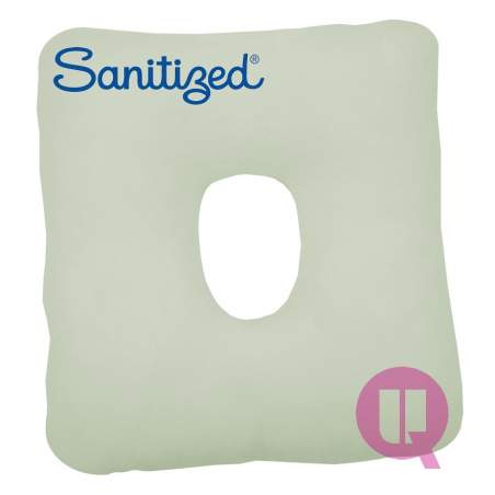 Sanitized coussin Suapel TROU CARRÉ BLANC 44x44x11