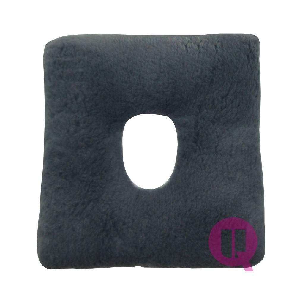 Almofada Suapel higienizado FURO 44x44x11 quadrado cinza