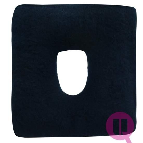 Almofada Suapel higienizado 44x44x11 MARINO buraco quadrado