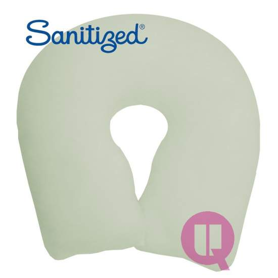 Sanitized Suapel cushion 44x44x11 WHITE HORSESHOE