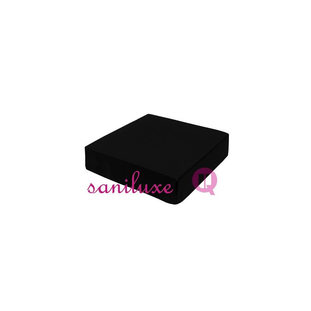 Viscoelastic cushion 42x42x08 black MAXICONFORT