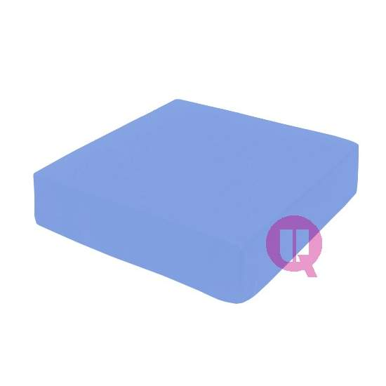 Viscoelastic cushion 42x42x08 MAXICONFORT blue sky - MAXICONFORT