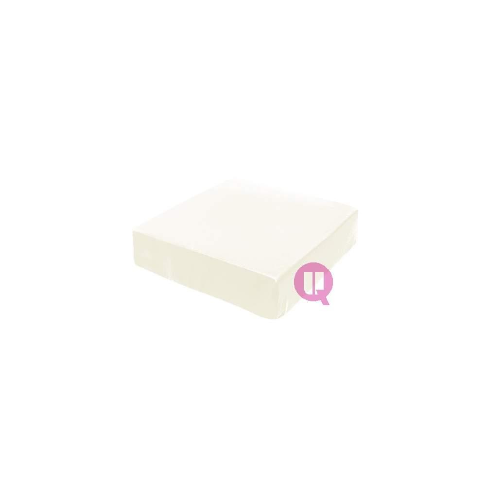 Viscoelastic cushion 42x42x08 white MAXICONFORT - MAXICONFORT