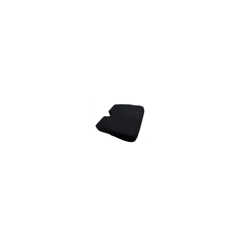 Almofada ergonómica 42x42x08 ERGOTECH preto - ERGOTECH preto