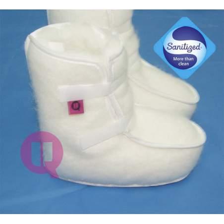 Il formato antiescaras Sanitized stivali bianchi 36-39
