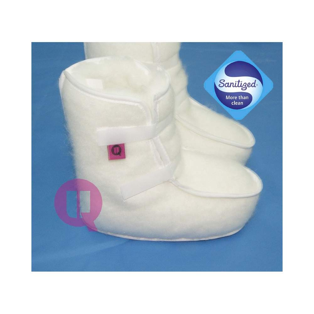 SANITIZED antiescaras WHITE boots size 40-43 - SANITIZED antiescaras WHITE boots size 40-43