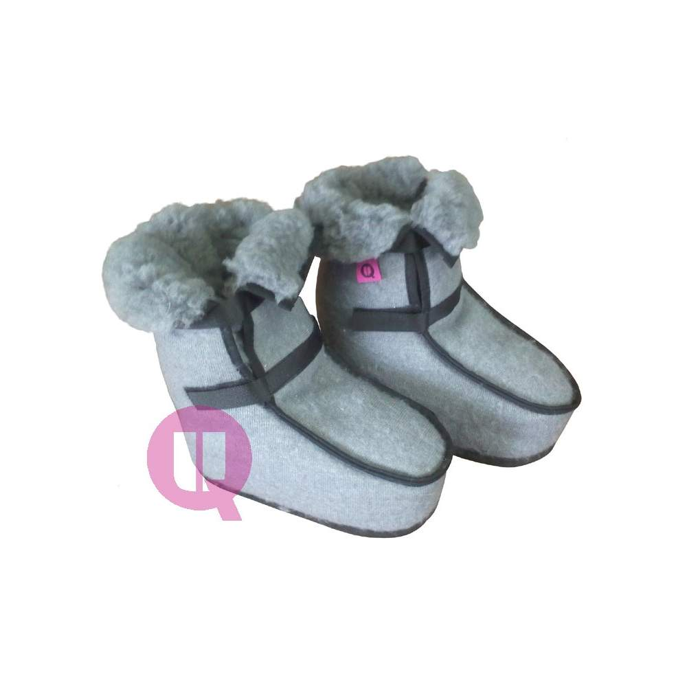 Botines antiescaras SANITIZED GRIS tallas 36-39