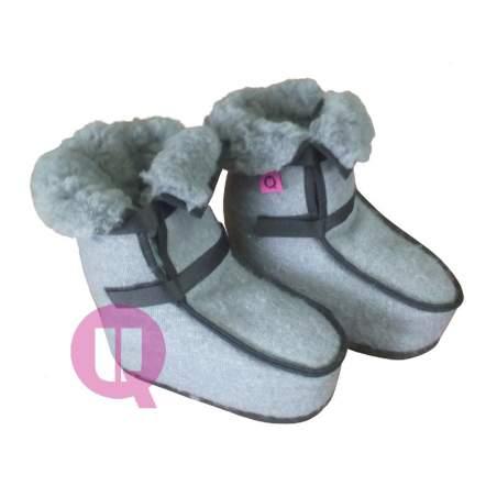 Antidecubitus higienizado GREY botas tamanho 36-39