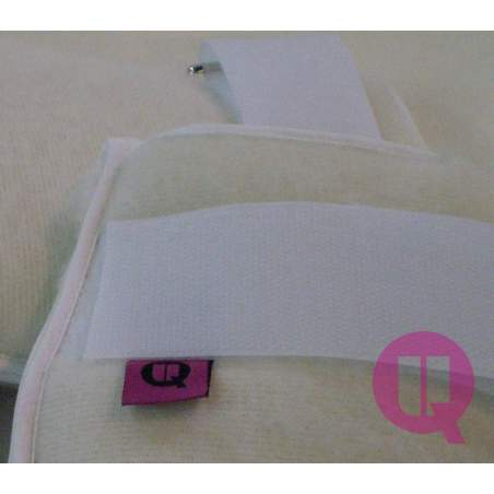Antiescaras mittens SUAPEL WHITE T / L (pair)