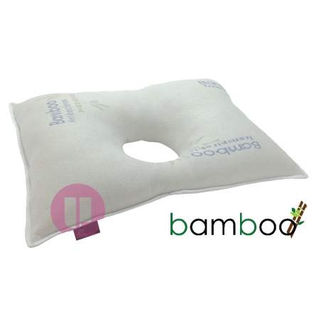 Antiescaras pillow bamboo ear hole