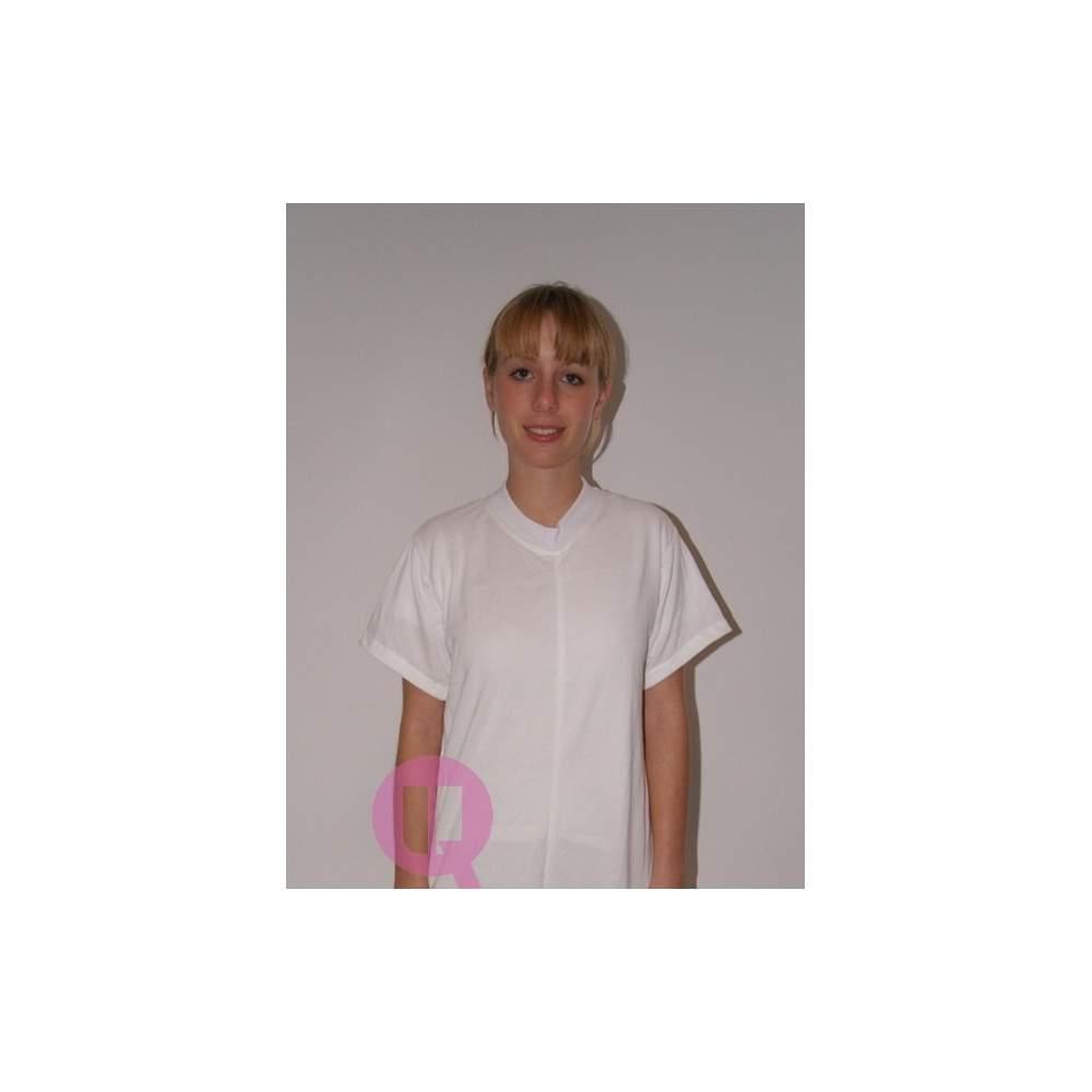 Pyjamas antipañal COURT / BLANC MANCHES COURTES Tailles S - M - L - XL - XXL