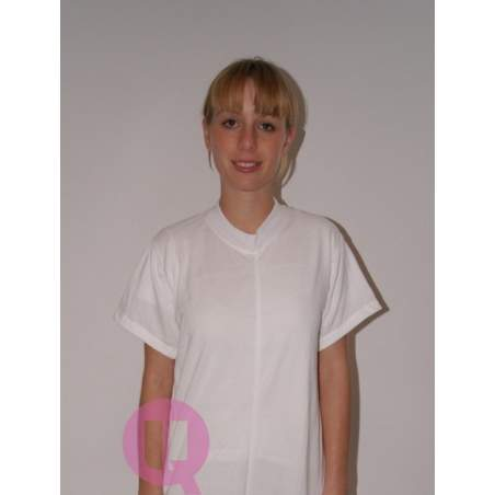 Pajamas antipañal SHORT / WHITE SHORT SLEEVE Sizes S - M - L - XL - XXL