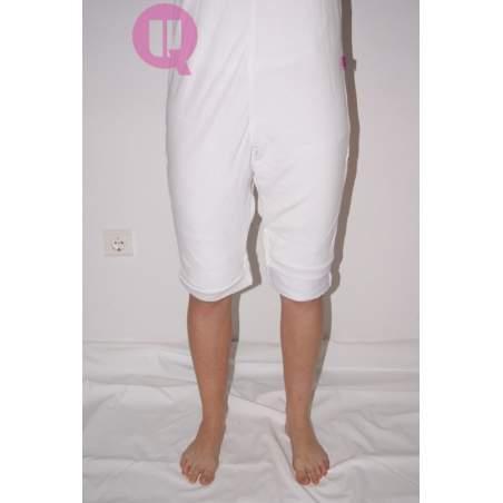 Pijama antipañal CORTO / MANGA CORTA BLANCO Tallas S - M - L - XL – XXL