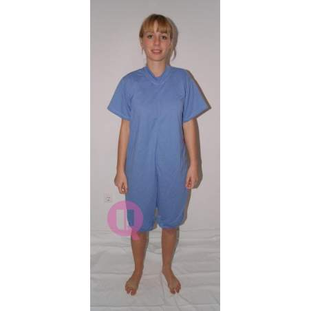Pajamas antipañal SHORT / CELESTE SHORT SLEEVE Sizes S - M - L - XL - XXL