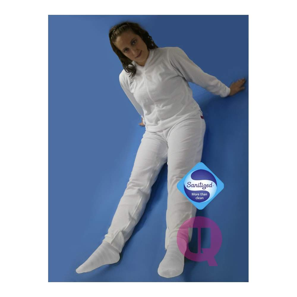Pajamas antipañal LONG / LONG SLEEVE WHITE Sizes S - M - L - XL - XXL - Pajamas antipañal LONG / LONG SLEEVE WHITE Sizes S - M - L - XL - XXL