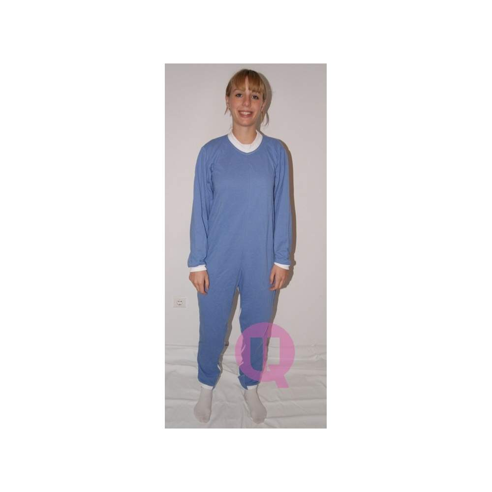 Pajamas antipañal LONG / LONG SLEEVE CELESTE Sizes S - M - L - XL - XXL