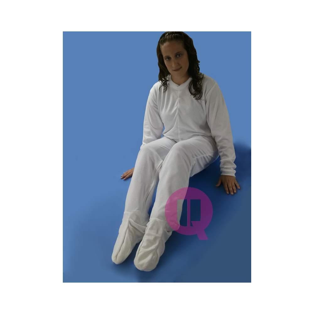 Pyjamas Antipañal avec les pieds / HIVER MANCHES LONGUES Tailles S - M - L - XL - XXL