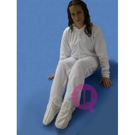 Pijamas Antipañal com os pés / Inverno Long Sleeve Tamanhos S - M - L - XL - XXL