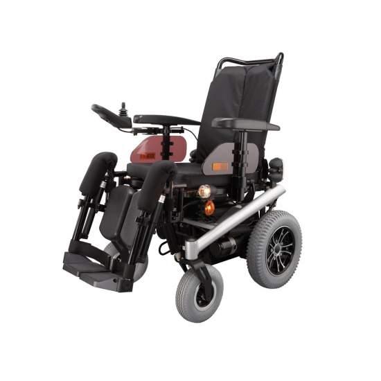 Sedia a rotelle elettrica Triplex B & B - Potenza sedia a rotelle Triplex modello, marchio B & BPrestazione Codice 12212703